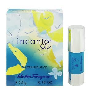 フェラガモ SALVATORE FERRAGAMO インカント スカイ フレグランススティック 5g 香水 フレグランス INCANTO SKY FRAGRANCE STICK|beautyfactory