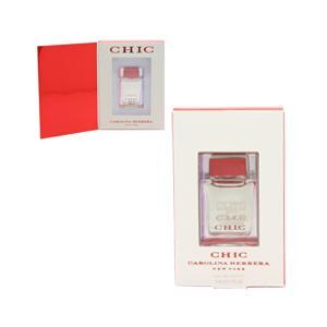 キャロライナヘレラ CAROLINA HERRERA シック ミニ香水 EDP・BT 5ml 香水 フレグランス CHIC|beautyfactory