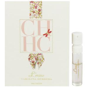 キャロライナヘレラ CAROLINA HERRERA CH ロー (チューブサンプル) (旧パッケージ) EDT・SP 1.5ml 香水 フレグランス CH L'EAU EAU FRAICHE|beautyfactory