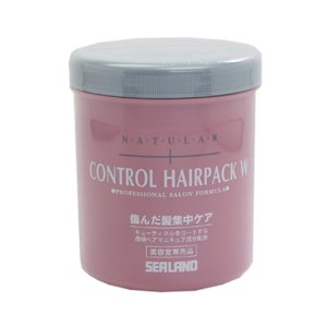 シーランド SEA LAND コントロール ヘアパック W 800g ヘアケア NATURAL CONTROL HAIRPACK W PROFESSIONAL SALON FORMULA|beautyfactory