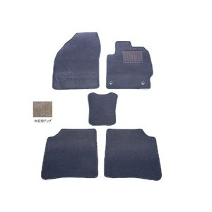 天野 AMANO エルグランド 型式:E51 (8人乗り) 年式:H14〜16 フロアマット一式 スクエア [カラー:グレー]|beautyfactory