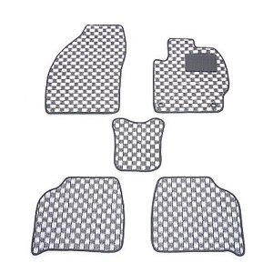 天野 AMANO シーマ 型式:F50 年式:H13〜22 チェック [カラー:ブラック×ホワイト]|beautyfactory