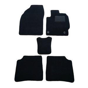 天野 AMANO セルシオ 年式:H6〜H18 型式:UCF20 フロアマット一式 無地 [カラー:ブラック]|beautyfactory