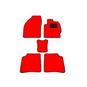天野 AMANO エブリィ バン 型式:DA64V 年式:H17〜27 (MT リア一体) 無地 [カラー:レッド]|beautyfactory