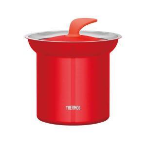 サーモス THERMOS 真空断熱テーブルスープジャー [容量:1.0L] [カラー:トマト] #KJC-1000-TOM|beautyfactory