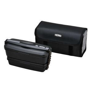 サーモス THERMOS フレッシュランチボックス [容量:900ml] [カラー:ブラックグレー] #DJB-905W-BKGY|beautyfactory