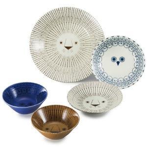 (最大500円OFFクーポン 11/30 23:00まで)三郷陶器 SANGOU TOUKI MIKKE シェアランチセット 6791-02|beautyfactory