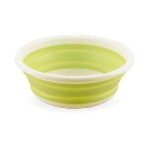 (最大500円OFFクーポン 2/28 23:00まで)カクセー KAKUSEE おりたたみ式洗い桶 丸型 33cm|beautyfactory