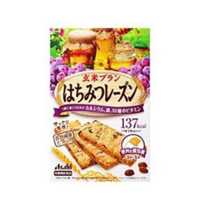 アサヒフードアンドヘルスケア ASAHI FOOD&HEALTHCARE バランスアップ 玄米ブラン はちみつレーズン 3枚×5袋×5個セット|beautyfactory