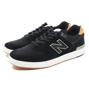 NEW BALANCE ニューバランス ヌメリック AM574BLG [サイズ:28.5cm (US10.5) Dワイズ] [カラー:ブラック×ガム]|beautyfactory