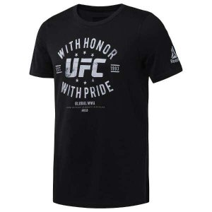 リーボック REEBOK UFC HONOR&PRIDE S/S Tシャツ [サイズ:M] [カラー:ブラック] #DU4587|beautyfactory