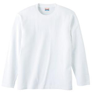 ユナイテッドアスレ UNITED ATHLE 5.6オンス ロングスリーブTシャツ(アダルト) カラー [カラー:ホワイト] [サイズ:XL] #5010-01W-1|beautyfactory