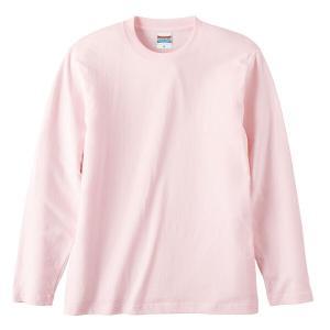ユナイテッドアスレ UNITED ATHLE 5.6オンス ロングスリーブTシャツ(アダルト) カラー [カラー:ベビーピンク] [サイズ:XXL] #5010-01CX-576|beautyfactory
