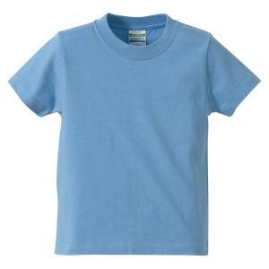 ユナイテッドアスレ UNITED ATHLE 5.6オンス ハイクオリティーTシャツ(キッズ) カラー [カラー:サックス] [サイズ:120] #5001-02C-82|beautyfactory