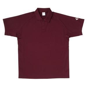 コンバース CONVERSE ポロシャツ [カラー:マロン] [サイズ:S] #CB29401-6900|beautyfactory