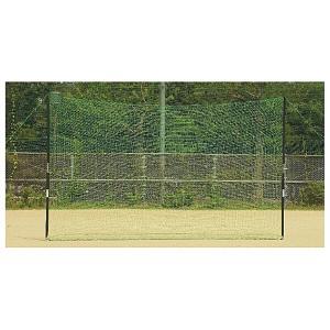 (最大500円OFFクーポン 4/30 23:00まで)ゼット ZETT 野球用具 バックネット(ポール付き) [サイズ:7×3m] #BM9037|beautyfactory
