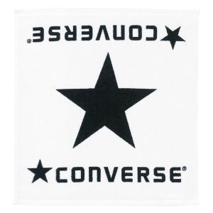 コンバース CONVERSE ハンドタオル CB111904 [カラー:ホワイト×ブラック] [サイズ:34×35cm] #CB111904-1119|beautyfactory