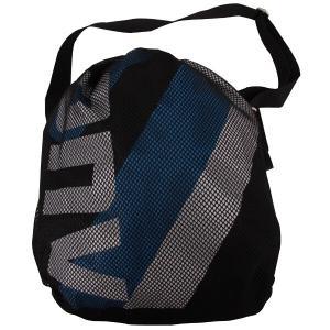 コンバース CONVERSE ボールケース バスケットボール1個入れ C1057098 [カラー:ブラック×ブルー] [サイズ:W45cm×H36cm] #C1057098-1923|beautyfactory