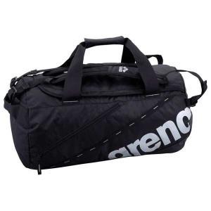 アリーナ ARENA 2WAYドラムバッグ [カラー:ブラック×シルバー] [サイズ:51×30×30cm(36L)] #AEANJA10-BLK|beautyfactory
