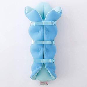ムッシュ MUSSHU 足枕 サクラ咲くまくら(両足用) [カラー:ブルー] [サイズ:フリー] #SS90020-BL|beautyfactory