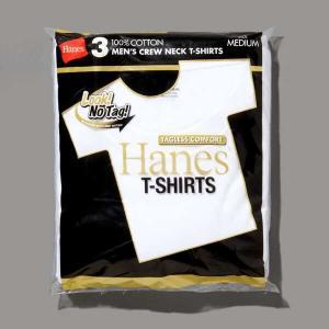 ヘインズ HANES ゴールドラベル クルーネックTシャツ(3枚組) ゴールドパック [サイズ:M] [カラー:ホワイト] #HM2155G-010|beautyfactory