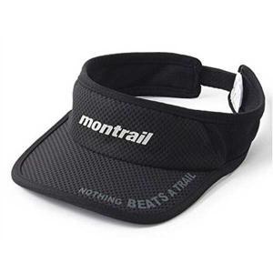 モントレイル MONTRAIL NOTHING BEATS A TRAIL ランニングバイザー [カラー:ブラック] #XU3981-010 Nothing Beats A Trail Running Visor|beautyfactory