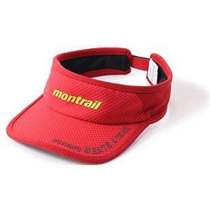 モントレイル MONTRAIL NOTHING BEATS A TRAIL ランニングバイザー [カラー:ブライトレッド] #XU3981-691 Nothing Beats A Trail Running Visor|beautyfactory