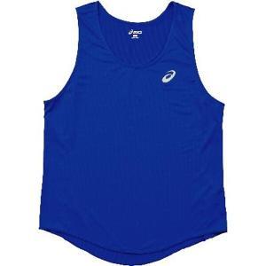 アシックス ASICS 陸上競技用 M'Sランニングシャツ XT1034 [カラー:ブルー] [サイズ:L] #XT1034 beautyfactory