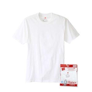 ヘインズ HANES X-TEMP クルーネックTシャツ(1枚) [サイズ:M] [カラー:ホワイト] #HM1EK200-010|beautyfactory