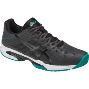 アシックス ASICS ゲルソリューション スピード 3 テニスシューズ(オールコート用) [サイズ:28.0cm] [カラー:ダークグレー×ブラック] #TLL766-9590|beautyfactory