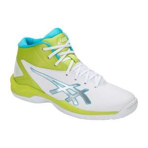 アシックス ASICS ゲルプライムショット SP 4 バスケットボールシューズ [サイズ:24.5cm] [カラー:ホワイト×ライム] #TBF140-0189 GELPRIMESHOT SP 4 beautyfactory