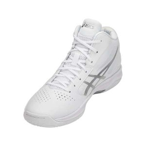 アシックス ASICS ゲルフープ V10 スリム バスケットボールシューズ [サイズ:23.0cm] [カラー:ホワイト×シルバー] #TBF341-0193 GELHOOP V 10-slim beautyfactory