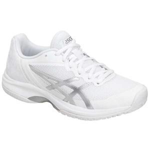アシックス ASICS レディ ゲルコートスピード AC レディース オールコート用テニスシューズ [サイズ:24.5cm] [カラー:ホワイト×シルバー] #TLL799-0193 beautyfactory