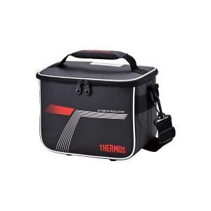 サーモス THERMOS スポーツクーラー 5.0L 保冷対応 クーラーバッグ [容量:5L(25.5×16×20cm)] [カラー:ブラックレッド] #REI-0051-BKR|beautyfactory