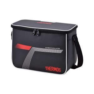 サーモス THERMOS スポーツクーラー 10.0L 保冷対応 クーラーバッグ [容量:10L(31.5×16×24cm)] [カラー:ブラックレッド] #REI-0101-BKR|beautyfactory