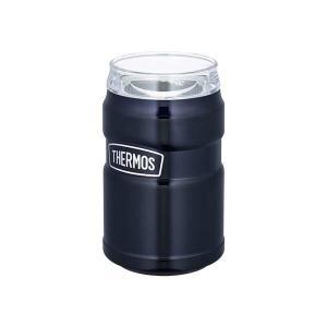サーモス THERMOS 真空断熱缶ホルダー 350ml缶用 [カラー:ミッドナイトブルー] #ROD-002-MDB|beautyfactory
