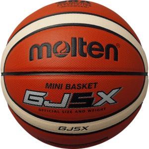 モルテン MOLTEN GJ5X ミニバスケットボール 5号球 検定球 [カラー:オレンジ×アイボリー] #BGJ5X|beautyfactory
