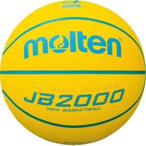 モルテン MOLTEN JB2000軽量ソフト ミニバスケットボール 4号球 #B4C2000LY|beautyfactory