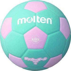 モルテン MOLTEN サッカーボール4号球 サッカー2200 軽量4号 [カラー:ピンク×シアン] #F4S2200PC|beautyfactory