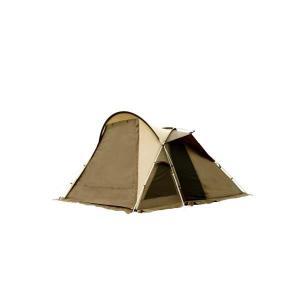 小人数での快適なキャンプを可能にする「ヴィガス」。前室3方向メッシュは通気性に優れ、最大高約192c...