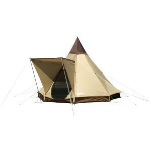 好評のピルツ9に快適機能のひさしを装備し、高くて広い開放的な空間を実現した八角錐テント。ベンチレータ...