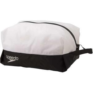 スピード SPEEDO ウォータープルーフ(L) [サイズ:W27×H15×D17cm] [カラー:ブラック×ホワイト] #SD98B68-KW beautyfactory