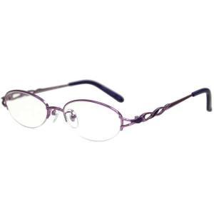 ましゅ京都 MASHU KYOTO mashu KYOTO Reading Glasses(ファッション 老眼鏡) [度数:+1.00] [カラー:パープル] #MKR-60012 beautyfactory