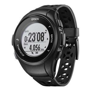 エプソン EPSON WristableGPS(リスタブルGPS) Q-10B GPSウォッチ [カラー:ブラック] #Q10B|beautyfactory