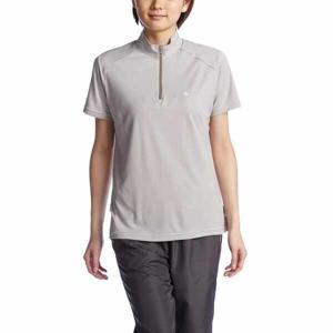 リーン LEAN レディース 半袖ハーフジップシャツ [カラー:モカ] [サイズ:DO] #UL5308|beautyfactory