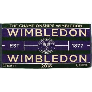 WIMBLEDON ウィンブルドン2018 チャンピオンシップタオル(メンズ) [サイズ:70×133cm] #41076948 (10%offクーポン 3/20 12:00〜3/31 1:00)