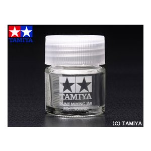 TAMIYA タミヤメイクアップ材 スペアボトルミニ (丸ビン)|beautyfactory