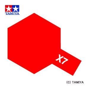 TAMIYA タミヤカラー エナメル(光沢) X-7 レッド|beautyfactory