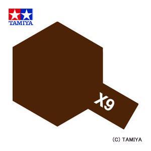 TAMIYA タミヤカラー エナメル(光沢) X-9 ブラウン|beautyfactory