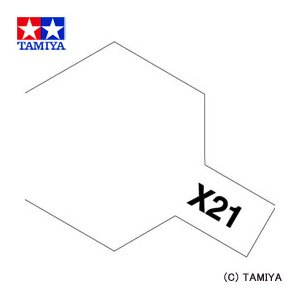 TAMIYA タミヤカラー エナメル(光沢) X-21 フラットベース|beautyfactory